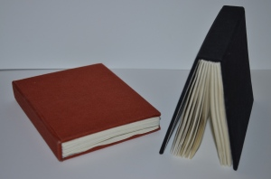 Traditional Binding with Hidden Stitching